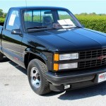 For Sale 26 Mile 1990 Chevy 454 Ss Pickup Still Rocking Its Factory Plastic Wrap