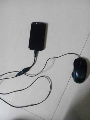 Connect mouse with OTG