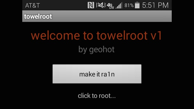root using towelroot