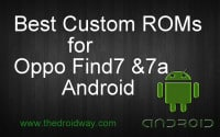 custom rom for oppo find 7