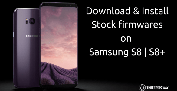 Download & Install Stock Firmwares for
