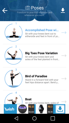 best yoga apps for android, best yoga apps