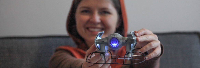 star wars propel tie fighter collector drone