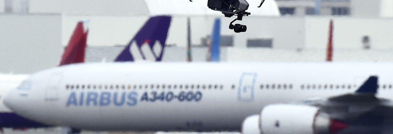 laanc drones 500 airports faa