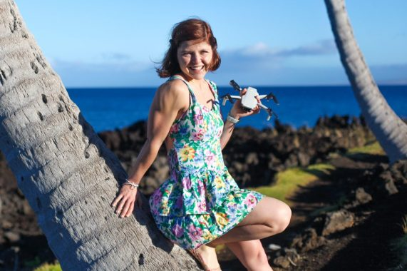 DJI Mavic Mini The Drone Girl Sally French