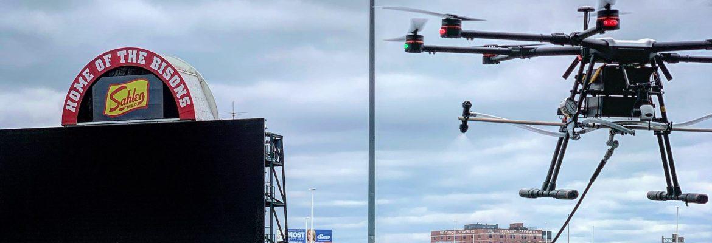 EagleHawk disinfectant drones