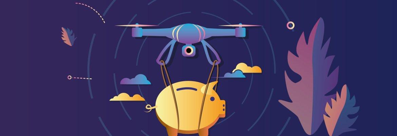 Drone market size