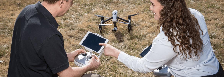 k-state polytechnic BVLOS drone flights