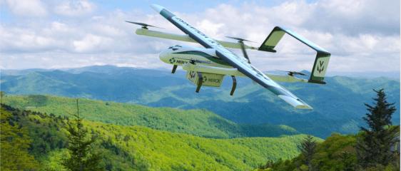 Merck drone delivery cold chain test medicine vaccine