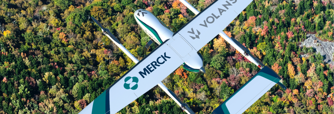 Merck refrigerated drone vaccines