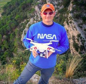 Romeo Durscher DJI Phantom NASA drone