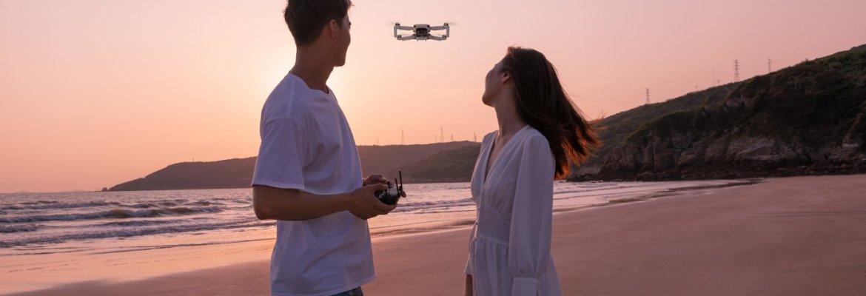 DJI Mavic drone without phone controller