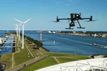 Terra Drone DJI wind turbine Skytools