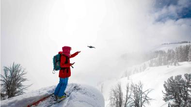 Skydio drone pilots women snow