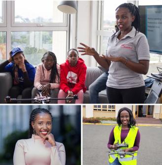 2020 Women To Watch Global Award winner Anne Nderitu, who represents WeRobotics in Kenya.