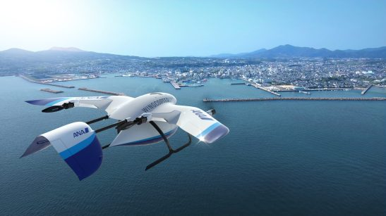 Japanese airline ANA Wingcopter drone delivery