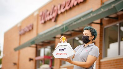Frisco Walgreens Wing drone delivery
