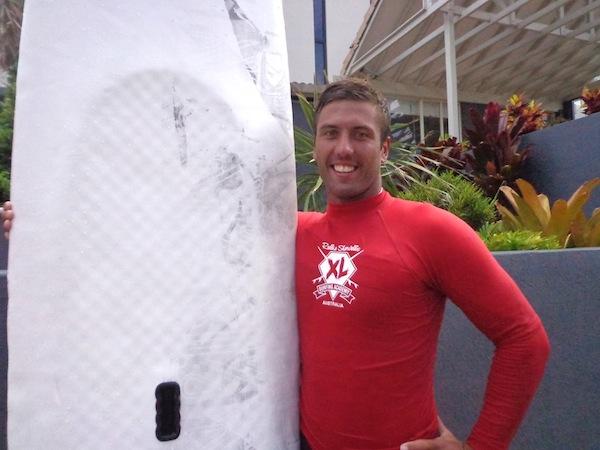 Robbie Sherwell surf school