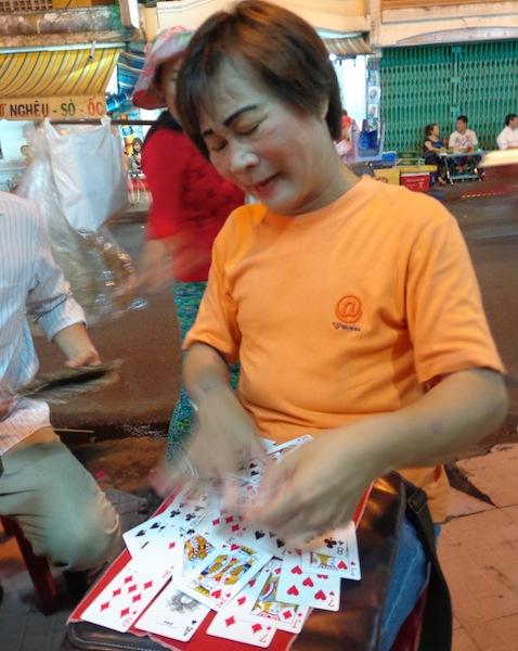Vietnamese fortune teller