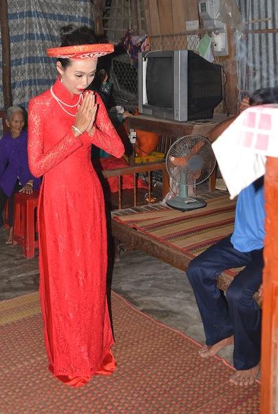 Mekong Delta wedding