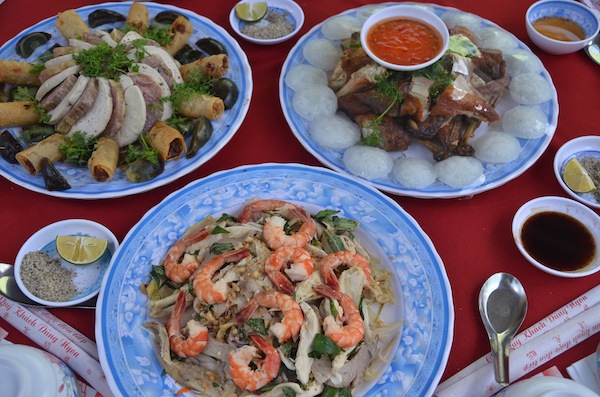 Mekong Delta wedding feast