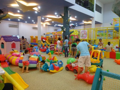 An indoor play centre in Ho Chi Minh City's District 2