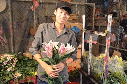 Ho Chi Minh City Flower Market