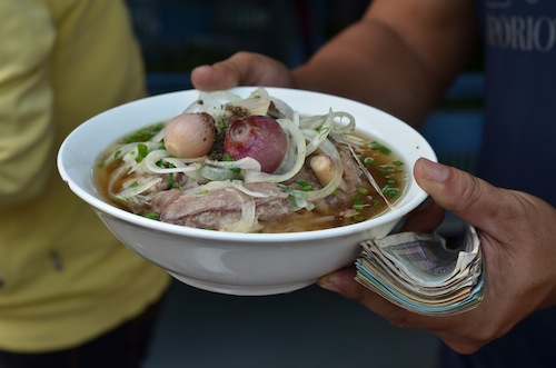 pho bo or beef pho
