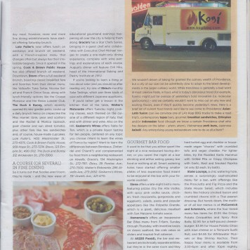 Providence Monthly August 2010 #165 page2