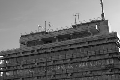 One of the many buildings of the East German secret police