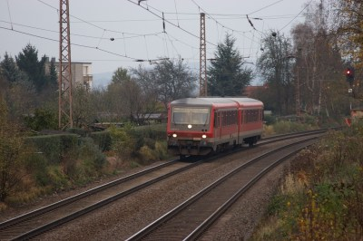 Canon EOS 20D and Sigma AF 70-300: Commuter Train