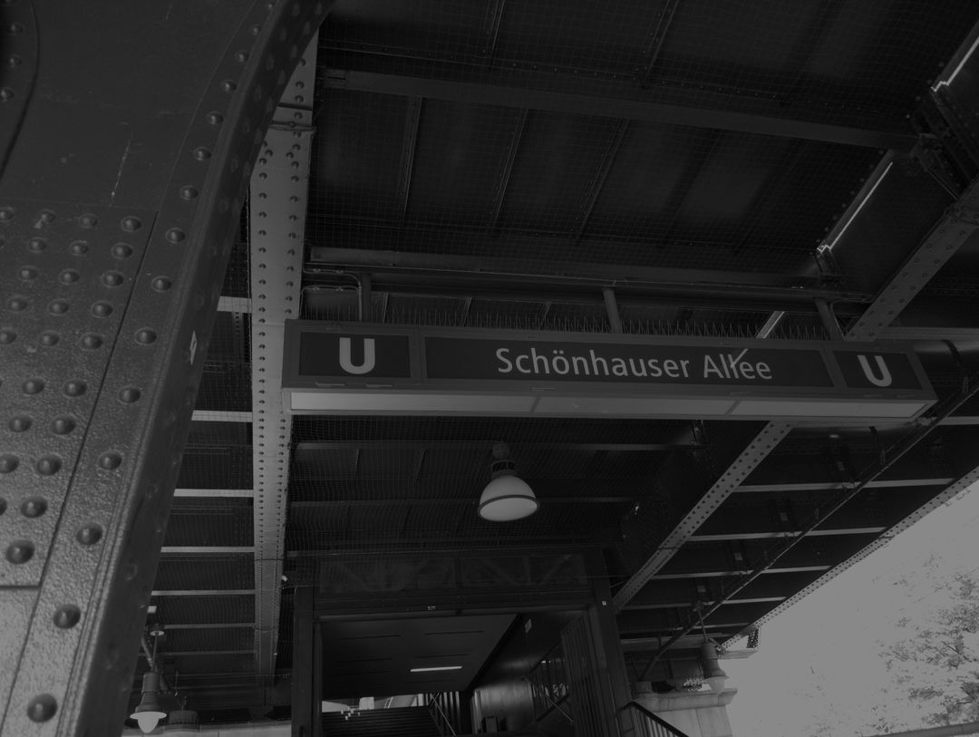 There is the subway. Above you. Wait what really? Yes. But it says I should take the subway. It is above you! (typical tourist conversation)
