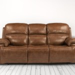 Lionel Caramel Power Reclining Leather Sofa The Dump Luxe Furniture Outlet