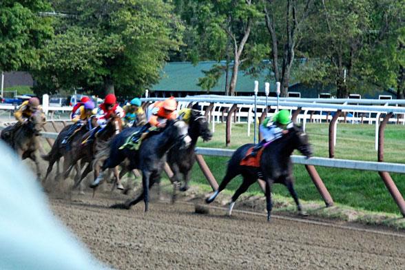 Saratoga Race Track Birthday