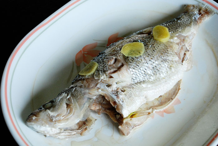Steamed Whole Fish (soy free)