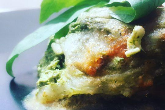 Vegetarian lasagna primavera