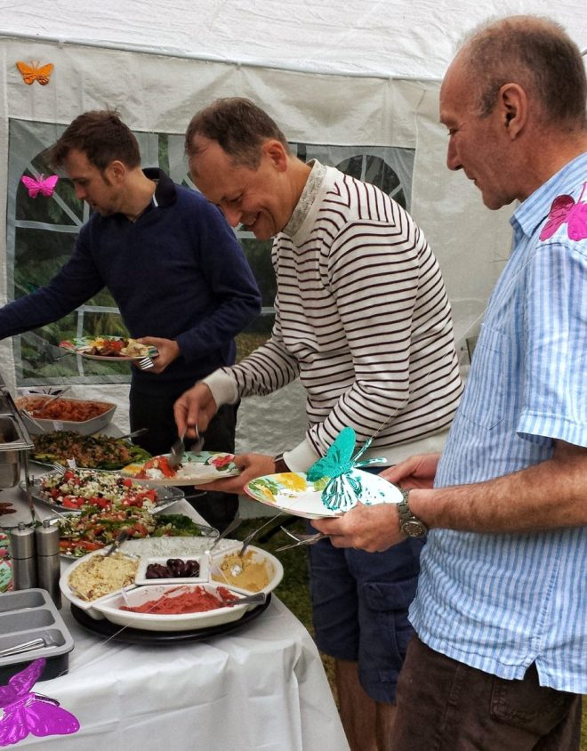 The Dutch Foodie outdoor catering
