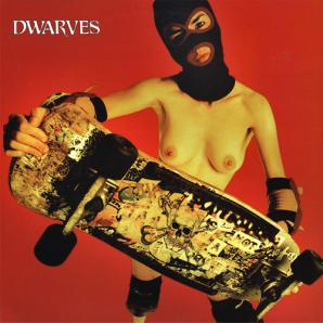 Album artwork from The Dwarves's 1997 LP 'The Dwarves Are Young and Good Looking,' set to be reissued by Recess Records this September as 'The Dwarves Are Younger and Even Better Looking.' The Dwarves are performing material from the album, as well as others from its catalogue and yet-to-be-recorded material at stops along its current North American tour, which stops at Toronto's Horseshoe Tavern tonight.