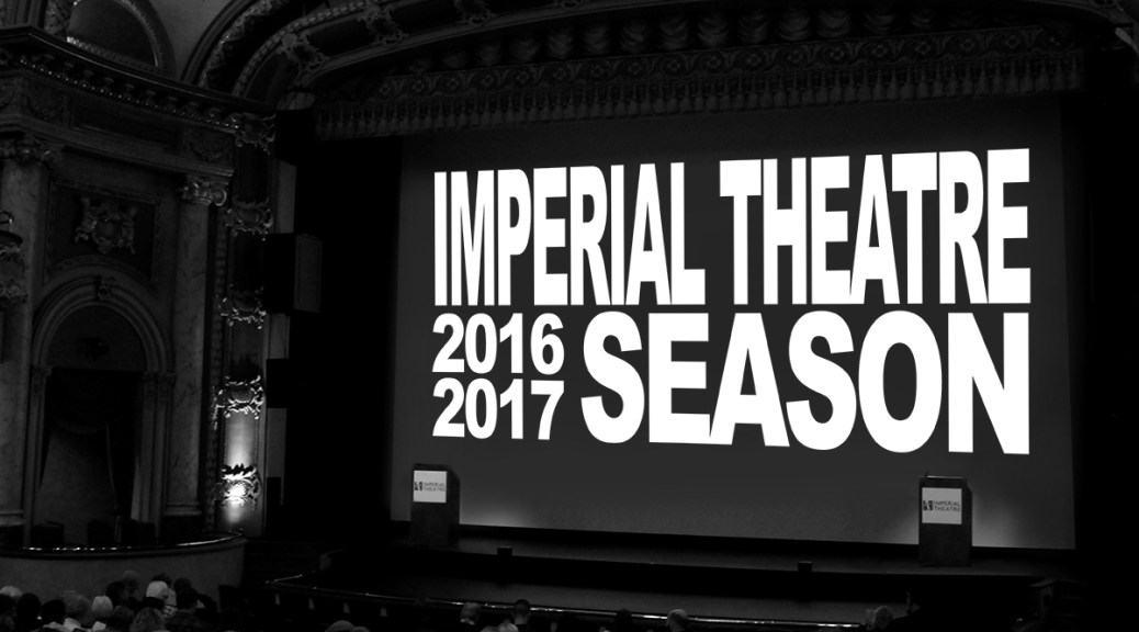 Imperial Theatre Unveils Lineup For Twenty-Third Season