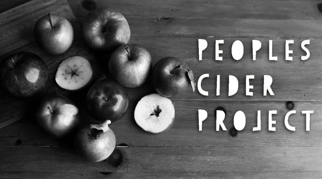 The Peoples Cider Project: Crowdsourcing Nova Scotian Apple Cider