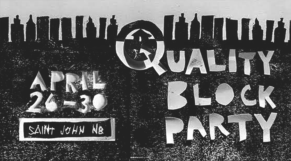 Quality Block Party: New Festival Announces Saint John Dates Opposite ECMAs