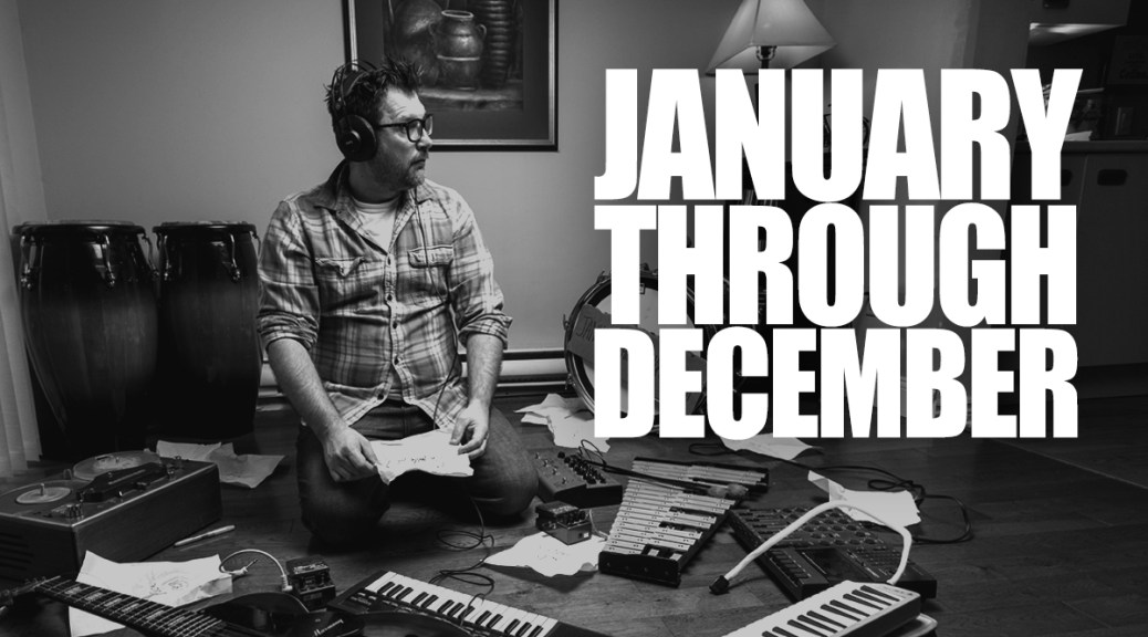 January Through December: Saint John Musician Journals Raw Musical Process