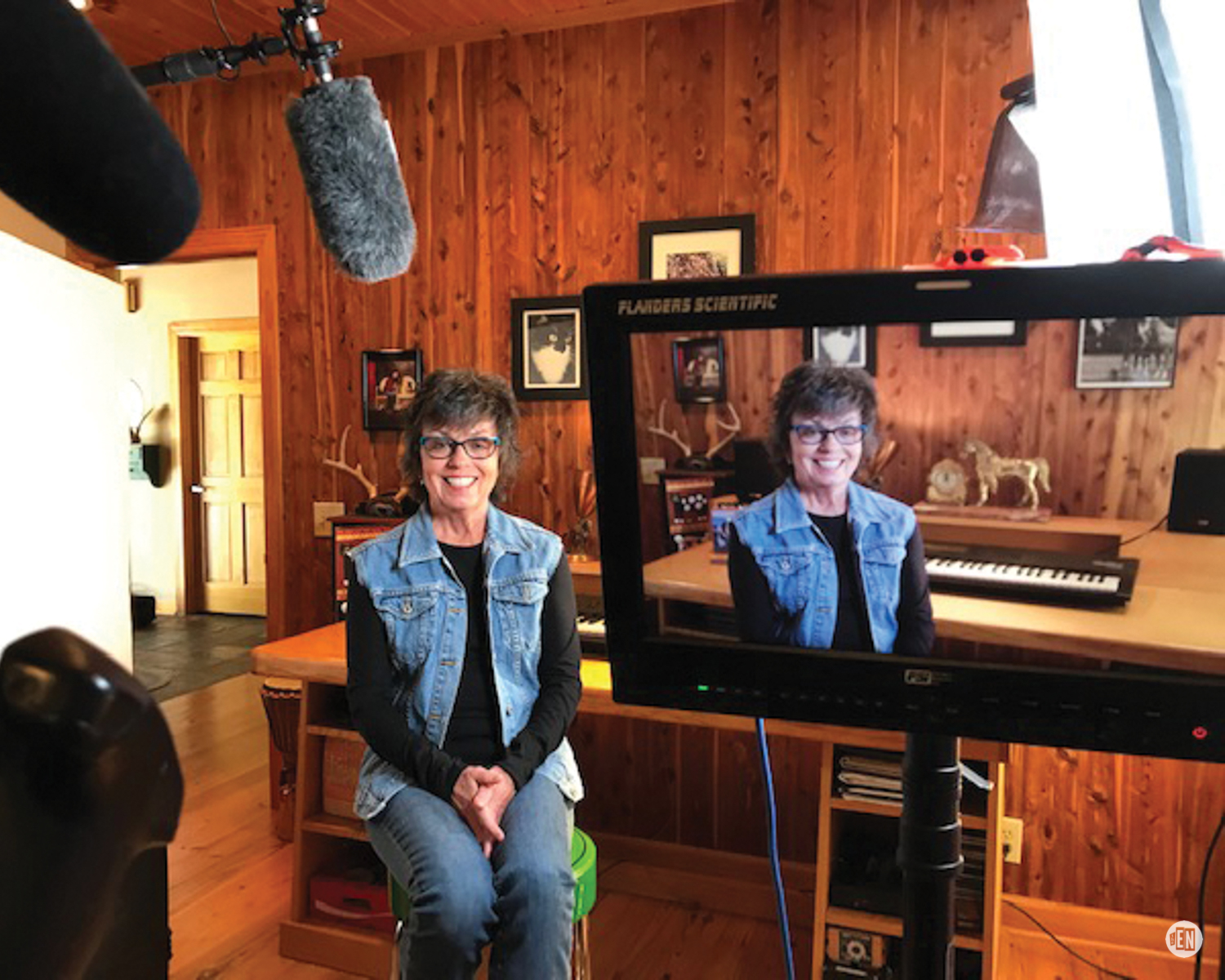 Grammy-nominated songwriter Mary Ann Kennedy whose frequent collaborator, Pam Rose, is also in the film.