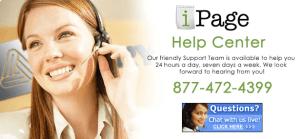 Ipage Customer Service