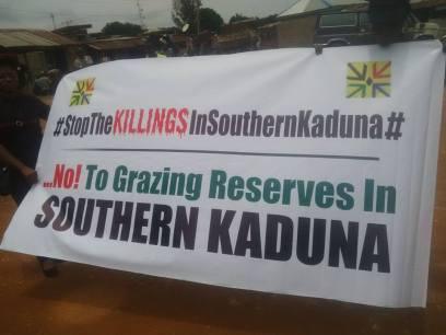 #StopTheSouthernKadunaGenocide..