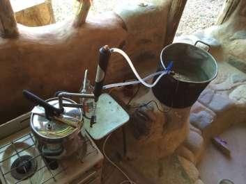 Distiller in action