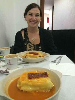 Francesinha, Restaurante Bufete Fase, Porto, Portugal