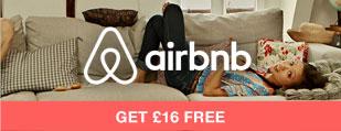 £16 FREE on airbnb.com