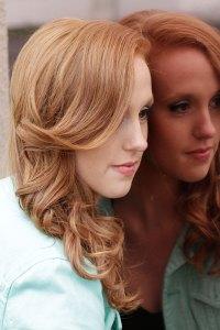 beauty, long hair, curles