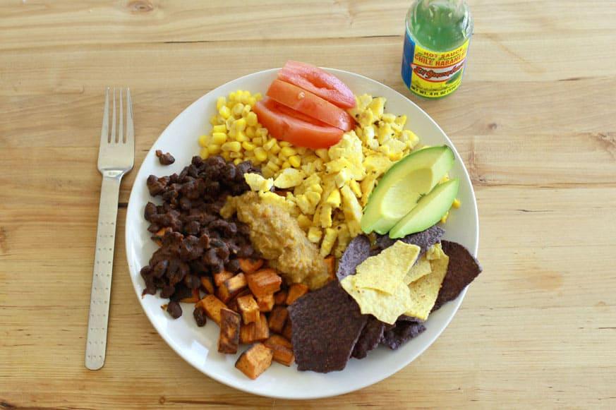 vegan Huevos Rancheros recipe